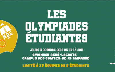 Olympiades Étudiantes 2018