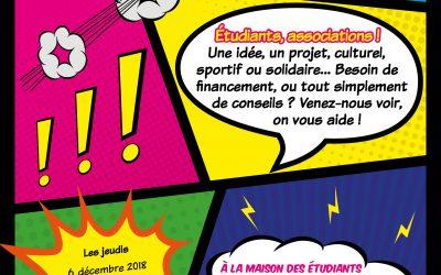 Journée des Initiatives Étudiantes du jeudi 21 mars 2019 à la MDE