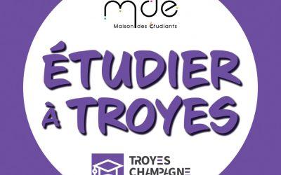 Lancement de l'Instagram Étudier à Troyes par Troyes Champagne Métropole