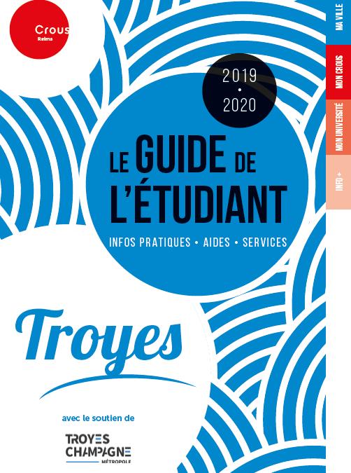 Guide de l'étudiant Troyes 2019-2020