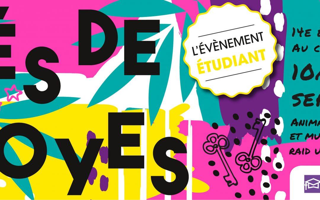 Clés de Troyes 2019 du 10 au 12 septembre 2019