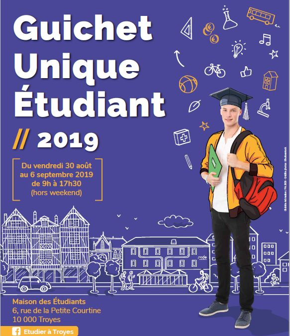 Guichet Unique Étudiant août et septembre 2019