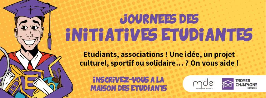 Journée des Initiatives Étudiantes du jeudi 5 décembre 2019 à la MDE