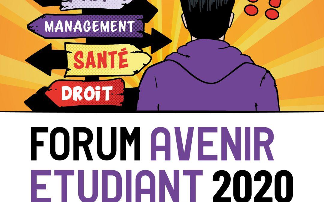 Forum Avenir Étudiant 2020 du 23 au 25 janvier 2020 à Troyes
